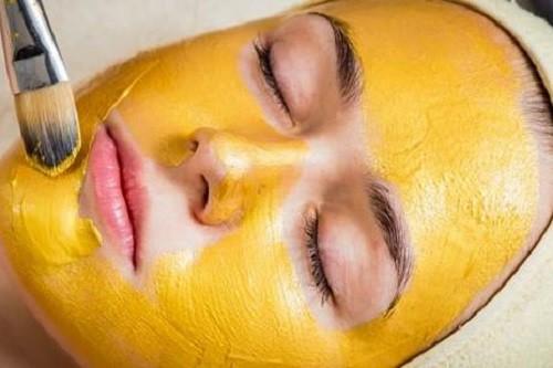 cách làm mặt nạ nghệ vàng